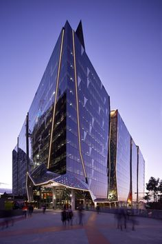 National Australia Bank, 700 Bourke St, Melbourne / Woods Bagot. Image Courtesy of World Architecture Festival