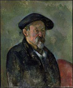 Paul Cézanne ~ Autoportrait au béret