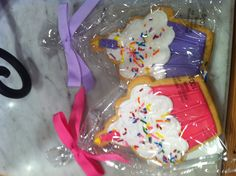 Just Wrap It - D. Birthday Candles, Wraps, Cookies, Desserts, Pink, Gifts, Crack Crackers, Tailgate Desserts, Biscuits