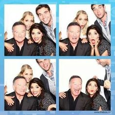 The Crazy Ones: Robin Williams, Sarah Michelle Gellar, James Wolk, and Amanda Setton. I love this series so much