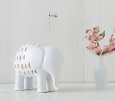 Glowing Elephant Lamp