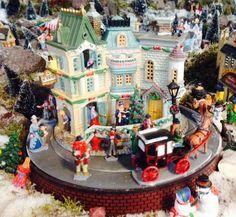 Kersthuisje in ons kerstdorp