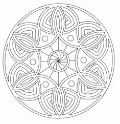 This Advanced Mandala Coloring Sheet Is A Fun Design And Quite Challenging To Color S Page Can Be Decorated Online With The