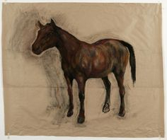 NICOLA HICKS (b For the past four decades, British artist Nicola Hicks ' practice has centred around a world. Chelsea School Of Art, Royal College Of Art, Horse Art, Art Fair, Contemporary Paintings, Colour Images, Sculptures, Horses, Gallery