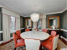 Valance & drapes   bryn alexandra: Real Estate Stalker - House Beautiful Addition