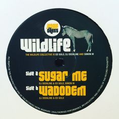 "The Wildlife Collective - Sugar Me / Wadodem 12"" JC001 Jungle Cakes"