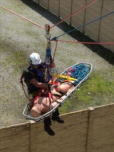 ARK Technical Rescue Delivers Rope Rescue Training: Camp Lejeune Fire and Rescue, NC