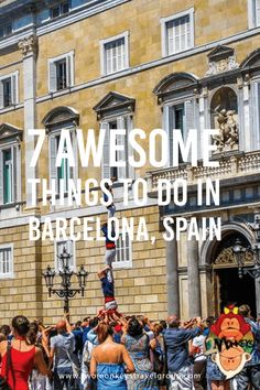 7 Awesome Things to Do in Barcelona, Spain Barcelona is the cosmopolitan capital of Spain's Catalonia region and is overflowing with culture so rich that dates back from many years before. It is also filled with interesting tales from its hundreds of years history and has produced fine artist over the years. There are almost endless of interesting things to do in Barcelona and all you need is enough time to see these all.