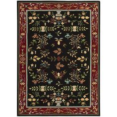 Nourison Everywhere Black Accent Rug (8' x 11') (8' x 11'), Beige, Size 8' x 11' (Acrylic, Abstract)