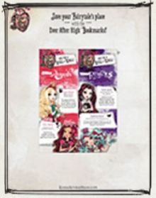 Ever After High Printable Bookmarks