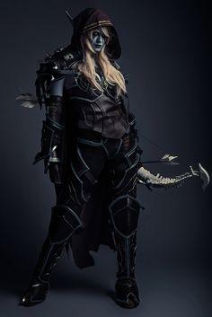 Sylvanas Windrunner cosplay from Legion, World of Warcraft by Ssharda. Photo by Robert Ribic.