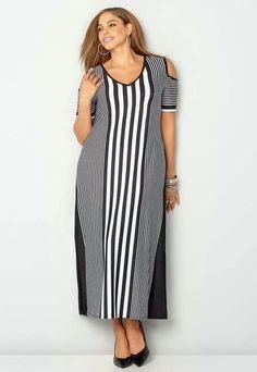 Fashion plus size xxl 53 Ideas Curvy Fashion, Plus Size Fashion, Boho Fashion, Plus Size Dresses, Plus Size Outfits, Nice Dresses, Dress Outfits, Fashion Dresses, Mode Boho