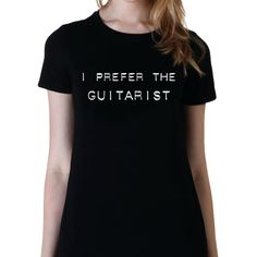 I Prefer the Guitarist Shirt Luke Hemmings 5sos Band Shirt 5 Seconds... ($15) ❤ liked on Polyvore featuring tops, t-shirts, black, women's clothing, black sheer shirt, long t shirts, black shirt, long black shirt and long sleeve tops