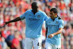 Yaya Toure & Carlos Tevez | Manchester City