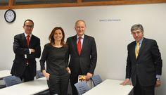 Banco Santander e IQS refuerzan su colaboración en beneficio de los estudiantes (18/02/15) http://bsan.es/1CHTDUS