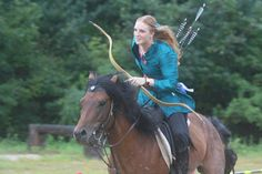Horse Archery... Maybe someday I'll be good enough at archery!