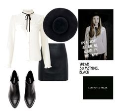 """""""VioletHarmon."""" by taissasilva ❤ liked on Polyvore featuring Coven, McQ by Alexander McQueen, Lipsy and Eugenia Kim"""
