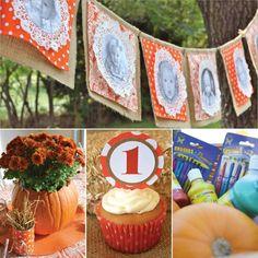 pumpkin themed birthday