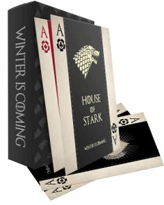 DIY Game of Thrones Playing Cards - Free Printable and step by step instructions