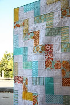 Heirloom Worthy Quilt Pattern...Great Color/Fabric Combo too :)