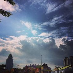 Great town made by God in the sky.  #god #sky #town #cloud #taiwan