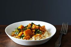 """10 Easy Ways To Add This Cheap Ingredient To Your Table #refinery29  http://www.refinery29.com/food52/145#slide-3  Vegan Kale & White Bean Korma By Alexandra DawsonThis fiber-packed dish only takes 10 minutes to cook. Ready, set, go! <a href=""""http://food52.com/users/179580-alexandra-dawson"""" target=""""_blank..."""