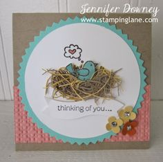 Stamping Lane: Creation Station with For The Birds