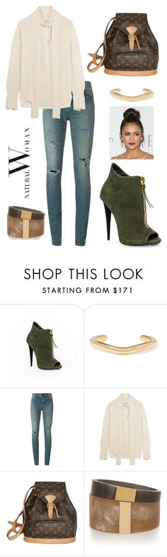 """""""Untitled #266"""" by maylamartha on Polyvore featuring Giuseppe Zanotti, Jennifer Fisher, Yves Saint Laurent, Alexander McQueen, Louis Vuitton, Isabel Marant and powerlook"""