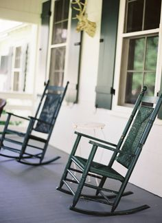 rocking chairs :) | Jen Huang #wedding