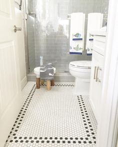 Small bathrooms, Rubber flooring and Bathroom floor tiles on Pinterest