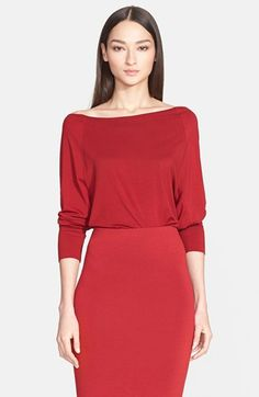 Donna Karan New York Jersey Top available at #Nordstrom