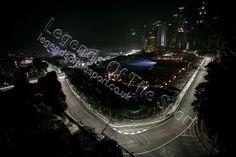 Formula 1 Print - 2015 Singapore GP Felipe Nasr (BRA) Sauber C34 Singapore Grand Prix Fri 18-09 Marina Bay