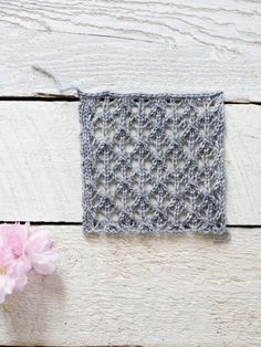 Make a summery scarf with 5 free, easy lace knit patterns