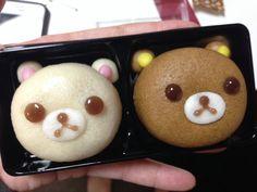 Bear manju from Tokyo