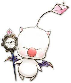 xiii-2 moogle - though this may be too detailed for the size I want.