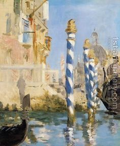 Edouard Manet:The Grand Canal   Venice