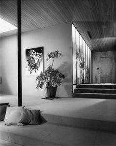 Case Study House No      Inverness Road Residence  Thousand Oaks     Mid century Home AUDITORIUM PLAN