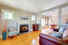 The best flooring for each room of your house. #decor #diy #hardwood