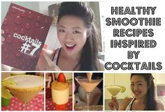 PROTEIN SHAKE RECIPES INSPIRED BY COCKTAILS | QUICK EASY HEALTHY