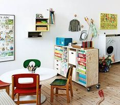 Home Decoration Sale Clearance Code: 7830957082 Creative Kids Rooms, Office Playroom, Retro Kids, Kid Desk, Toddler Rooms, Baby Room Decor, Kid Spaces, Boy Room, Colorful Interiors