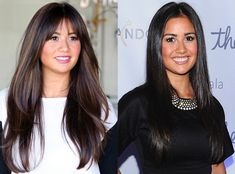 Catherine Lowe, Hair, Bangs