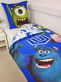 monsters university bedding | Disney Monsters University Monsters University Single Duvet Cover and ...