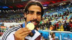 2014 FIFA World Cup™ - Photos - FIFA.com Sami Khedira of Germany celebrates