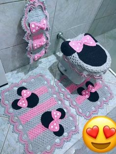 Beading Patterns Free, Free Pattern, Crochet Baby, Knit Crochet, Crochet Home Decor, Bathroom Sets, Learn To Crochet, Baby Patterns, Purses And Bags