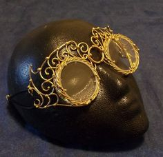 Bronze Steampunk Goggles by BronzeSmith on Etsy, $175.00