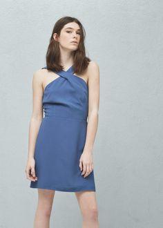 Wrap back dress - Dresses for Woman | MANGO Finland