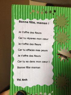 Fête des mères poème