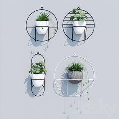 models: Indoor - Cosmo two Fairy Garden Furniture, Garden Art, Hanging Wall Planters, Wall Decor Design, Indoor Plant Pots, Diy Shops, Diy Plant Stand, Modern Planters, Flower Stands