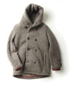 UR doors knit W hooded jkt