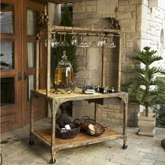 Tuscan Market Table from Iron Accents~$1270